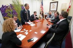 Florida Florist Representatives at Congressional Action Days