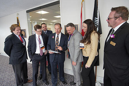 Details Flowers Software at Congressional Action Days with SAF