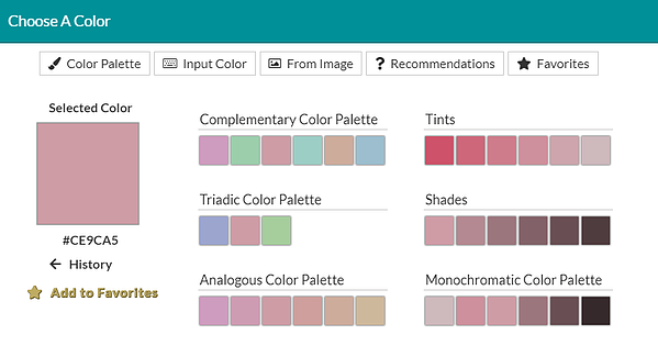 Details Color Picker Macaroon Matches