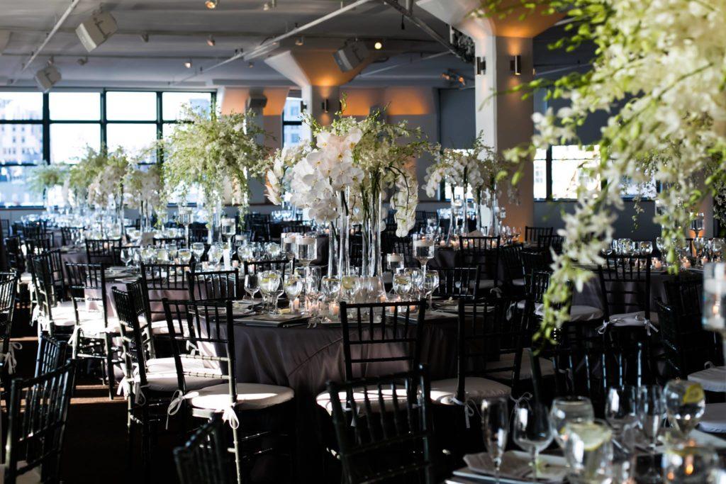 Table Arrangments at Reception
