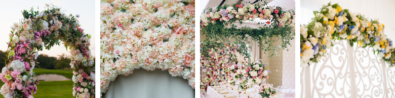 types-of-floral-installations